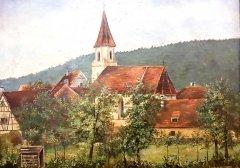 St. Nikolauskirche um 1900